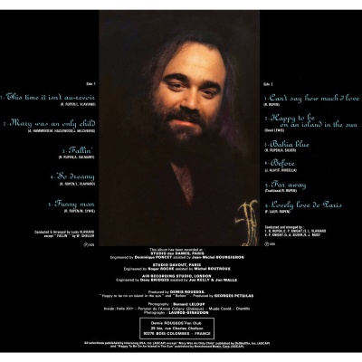 Demis Roussos - Happy To Be... (Album)