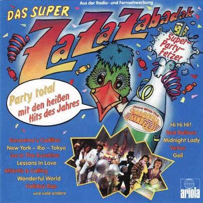 Saragossa Band - Das Super ZaZaZabadak (Album)