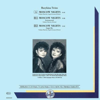 Bazykina Twins - Moscow Nights (Single)