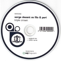 Serge Devant - Triple Crown CDS (Single)