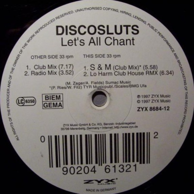 Discosluts - Let's All Chant