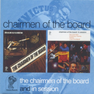 Chairmen Of The Board - The Chairmen of the Board/In Session