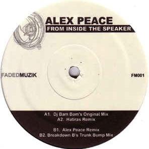 Alex Peace - From Inside The Speaker (Mr Basic vs. Bart Rework)