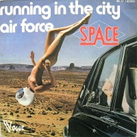 Space - Running In The City / Air Force