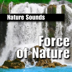 NATURE SOUNDS - Powerful Constant Waterfall For Healing Strength
