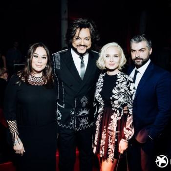 Россисйкие звезды отметились на вечеринке Valentino The Black Tiger