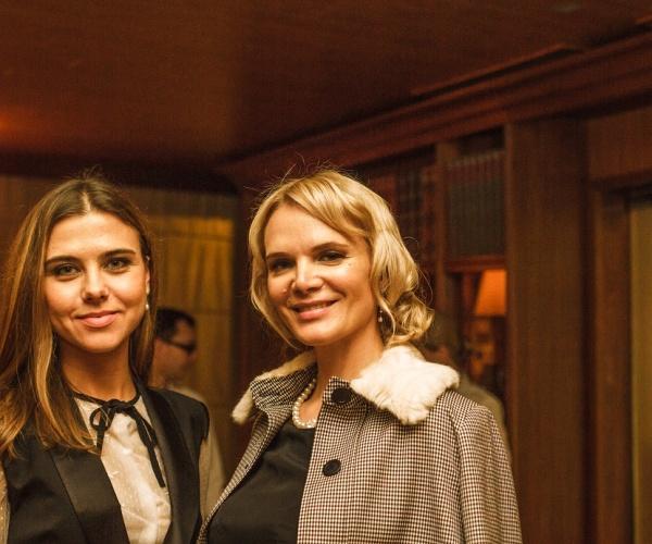 Светлана Абрамова и Анастасия Макарова побывали на вечере Этикета