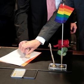 Получивших регистрацию гей-брака россиян оштрафуют