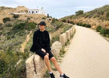 Елена Летучая поехала худеть в Испанию