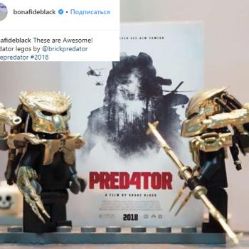 Любитель Lego из России впечатлил режиссера «Хищника»