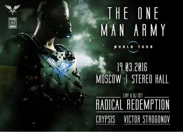 В Москве пройдет фестиваль The One Man Army