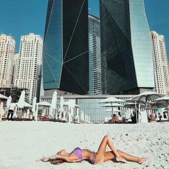 Мария Погребняк рассказала об отдыхе в Дубае
