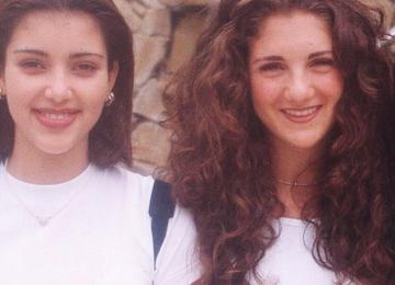 Ким Кардашьян показала фото со школьных времен