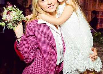 Маленькая дочь Навки стала звездной модного показа