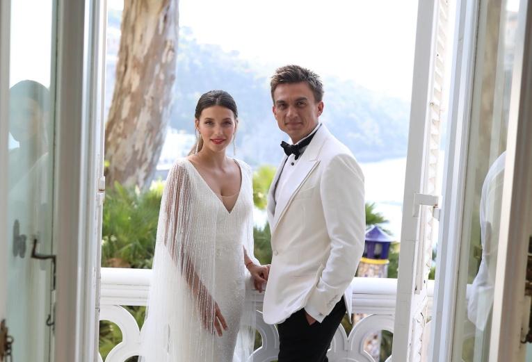 В сети появилось видео со свадьбы Влада Топалова и Регины Тодоренко